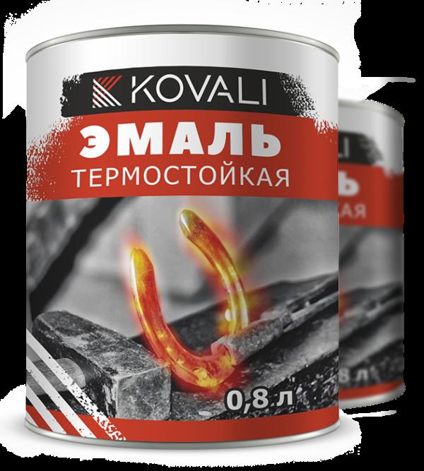 Термостойкая эмаль 1000 Kovali