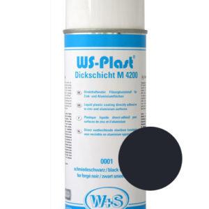 Краска WS-Plast (черный) Спрей 0,4 л