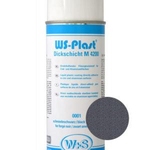Краска WS-Plast (темный графит) Спрей 0,4 л