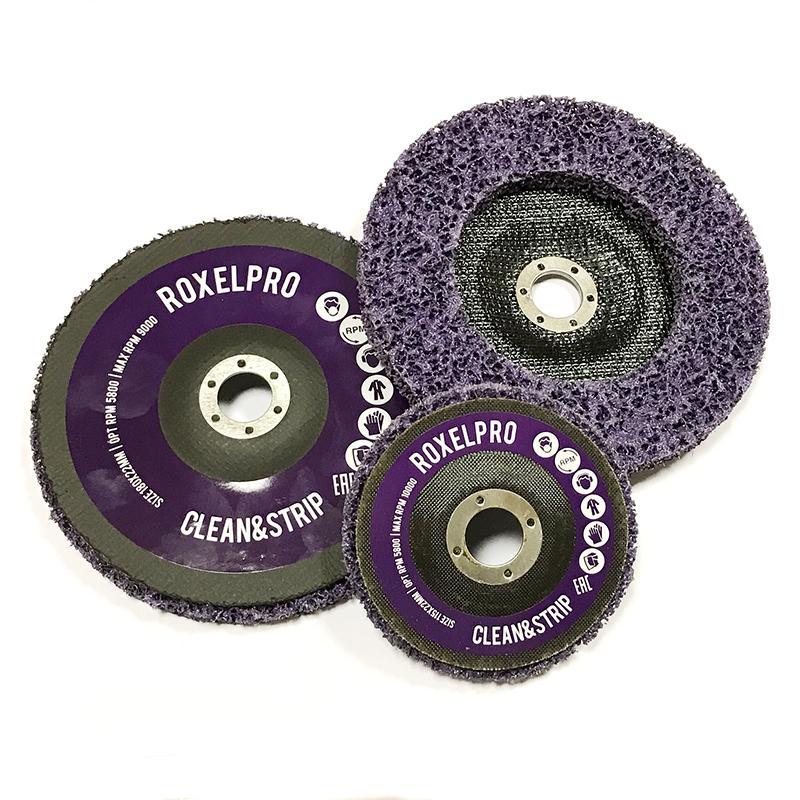 Зачистные круги Clean&Strip на оправке