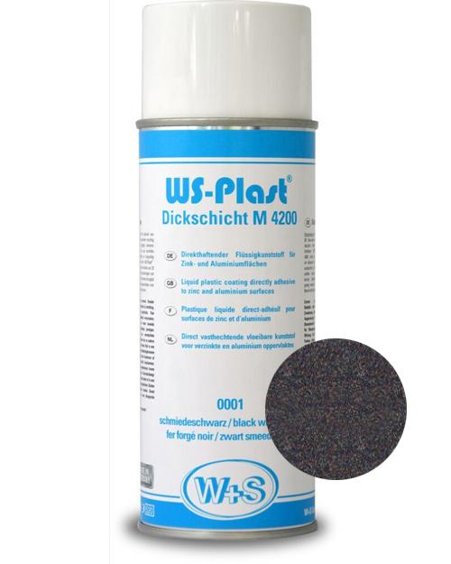 Краска WS-Plast (черный графит) Спрей 0,4 л