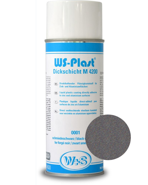 Краска WS-Plast (светлый графит) Спрей 0,4 л