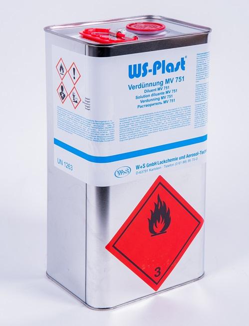 Растворитель WS-Plast MV751 5 л