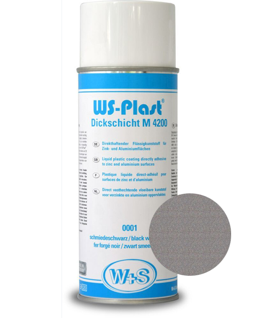 Краска WS-Plast (серый металлик) Спрей 0,4 л
