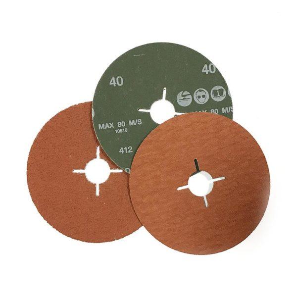 Фибровый шлифовальный круг 180х22мм, керамика