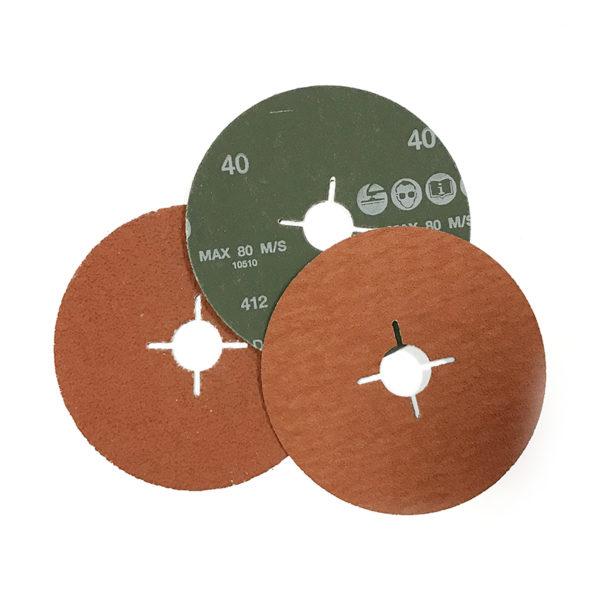 Фибровый шлифовальный круг 125х22мм, керамика
