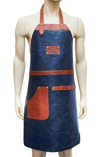 Подарочный кожаный фартук для мужчин BC-03 (DB)