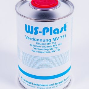 Растворитель WS-Plast MV 751, 1л