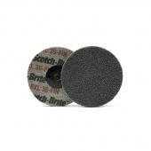 148214 RoxelPro Быстросъёмный нетканый пресcованный круг ROXPRO 75×6 мм, 2S, Fine