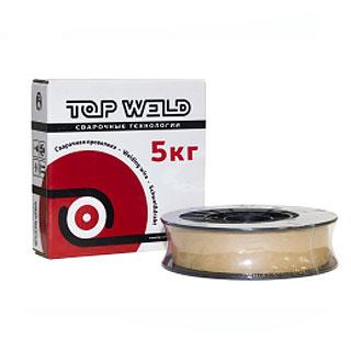 TW CWW-50 (ER70S-6) проволока сварочная омедненная, Top Weld