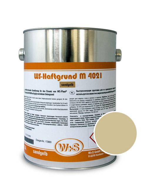 Грунт WS-Plast М 4021 песочно-желтый (0,75л)