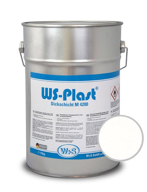 9010 Краска акриловая WS-Plast RAL 9010 (11кг) белый