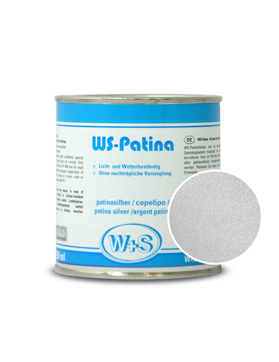 0013 WS-Patina 0013 серебро (0,25л)