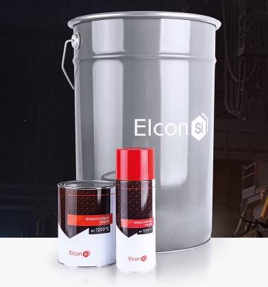 Термостойкая эмаль Elcon(фасовка 0,8 кг/25 кг)